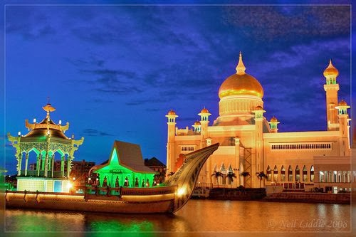 The Royal Islamic Masjid, Brunei