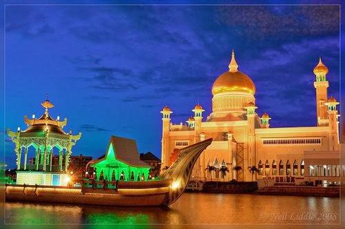 The Royal Islamic Masjid, Brunei