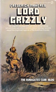 LORD GRIZZLY - a novel by Frederick Manfred,  Signet paperback