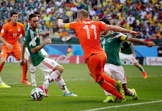 México vs Holanda 2014