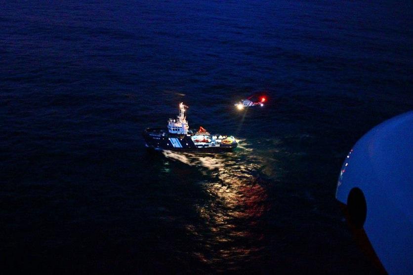 Entrenamientos Nocturnos. Buque Irmans García Nodal - Pesca 1