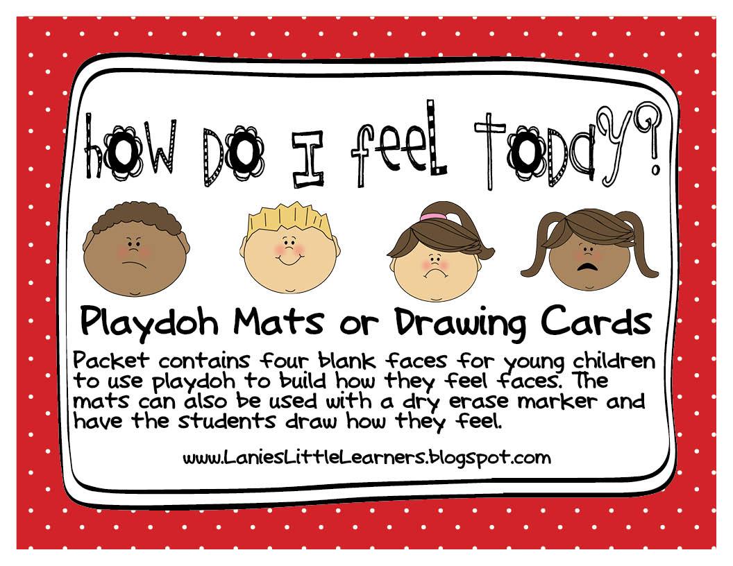 Lanies Little Learners Preschool Feelings Theme