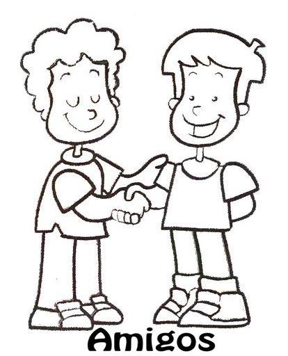 Dibujos de niños conversando - Imagui