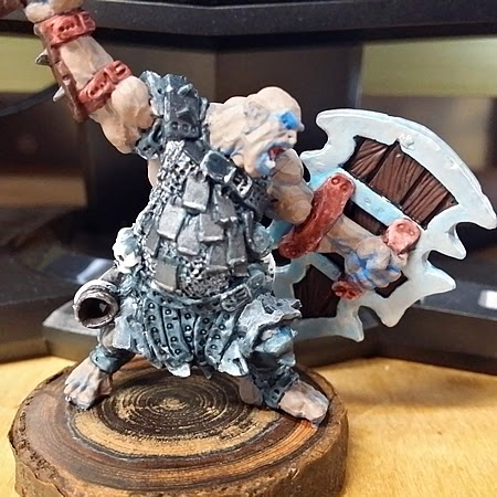WIP 4 :: The Ogre Chieftain Blues
