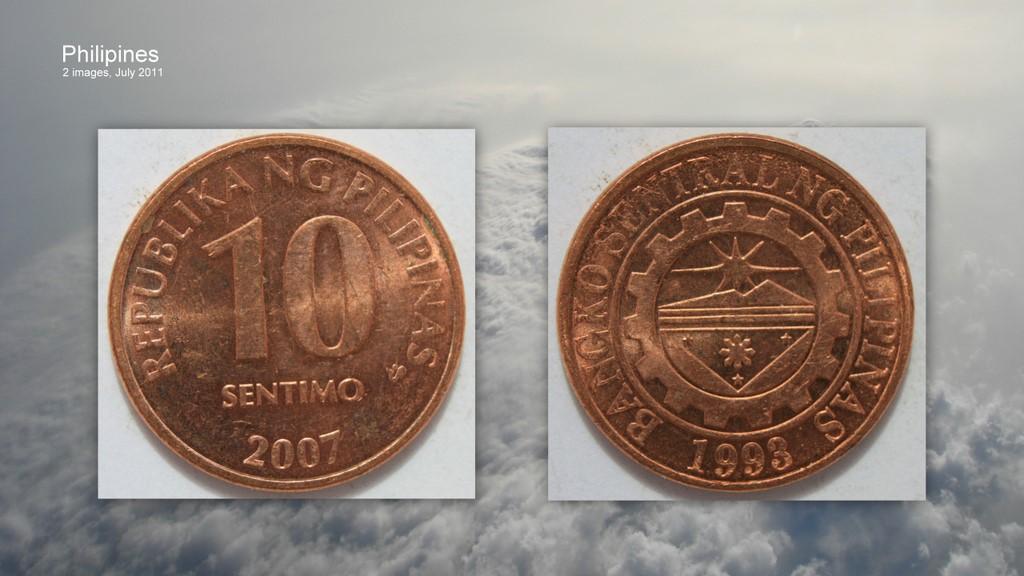 Philippines - Sentimo - 10 - 2007