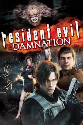 Resident Evil Damnation 2012 póster