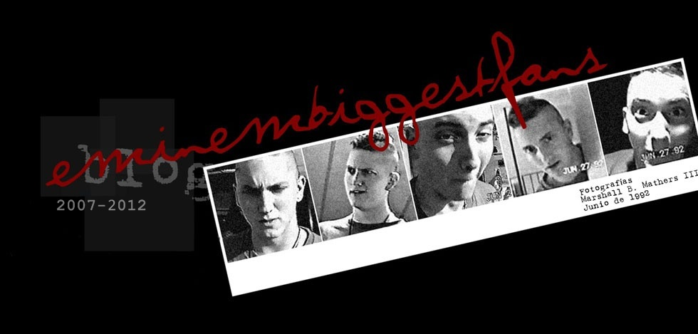EMINEM / SLIM SHADY / MARSHALL MATHERS III