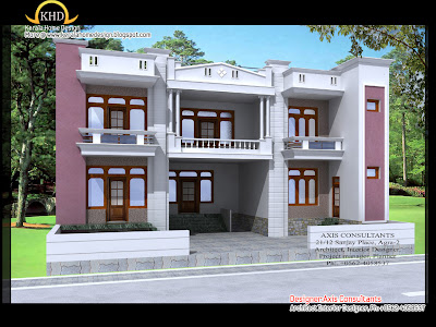 Home Building Design on House Elevation Designs   Kerala Home Design And Floor Plans