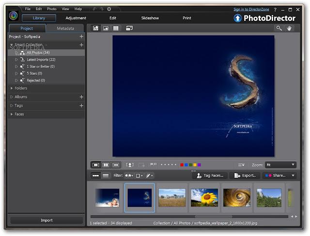CyberLink PhotoDirector SS 1
