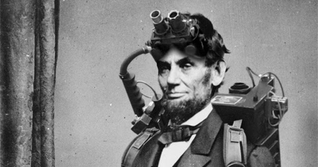 abraham lincoln ghost caught on tape. was abraham lincoln a ghost hunter caught on tape