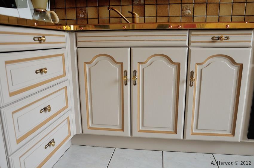 ambiances bois patines cuisine relook e chanvre avec liser caramel. Black Bedroom Furniture Sets. Home Design Ideas