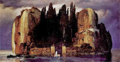 Arnold Böcklin - L'île des morts,1896.