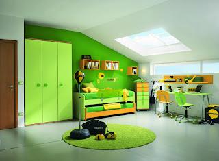 Dormitorios en áticos