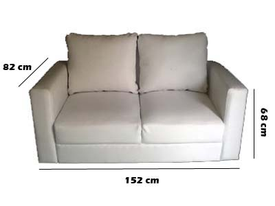 Penyewaan Sofa Double Seater