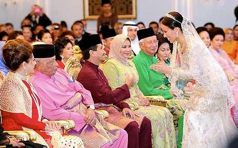 Gambar Majlis Pertunangan Anak Perempuan Najib Tun Razak (Nooryana
