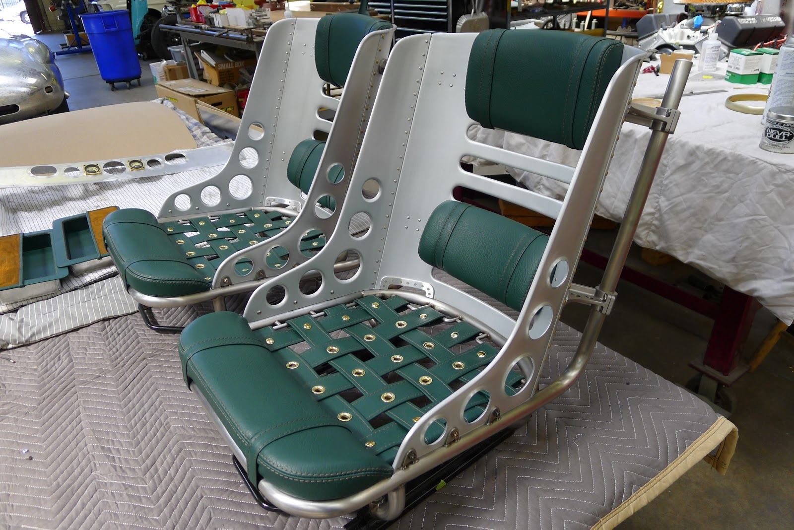 Hot Rod Seats Stainless Aluminum Billet Work Is Done By