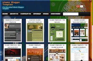 Template Islami Blogspot