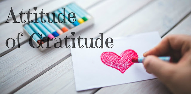 While I'm Waiting...Attitude of Gratitude