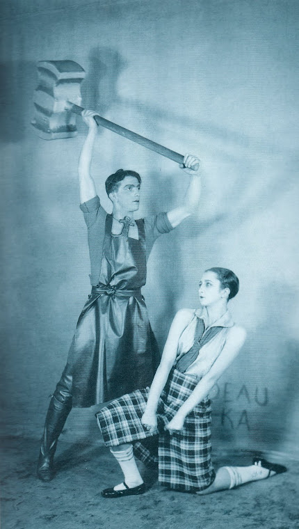 Léonid Massine, par da bela Alexandra Danilova.
