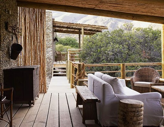Safari Fusion blog | Sticks & stones | Classic and moody African farm style at Stoney Cottage Karoo, South Africa