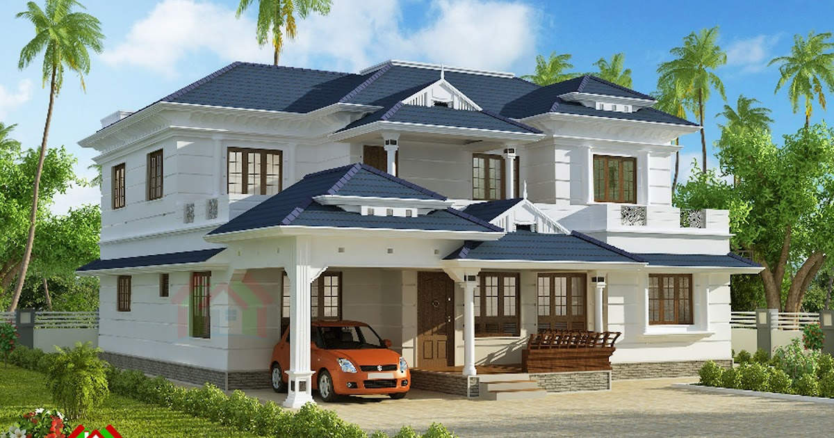 Architecture Kerala 3000 Square Feet House Plan