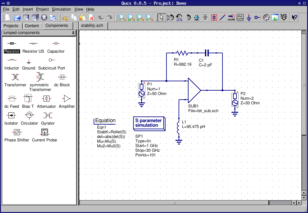 Hobby Electronics Circuits Open Source Schematic Drawing