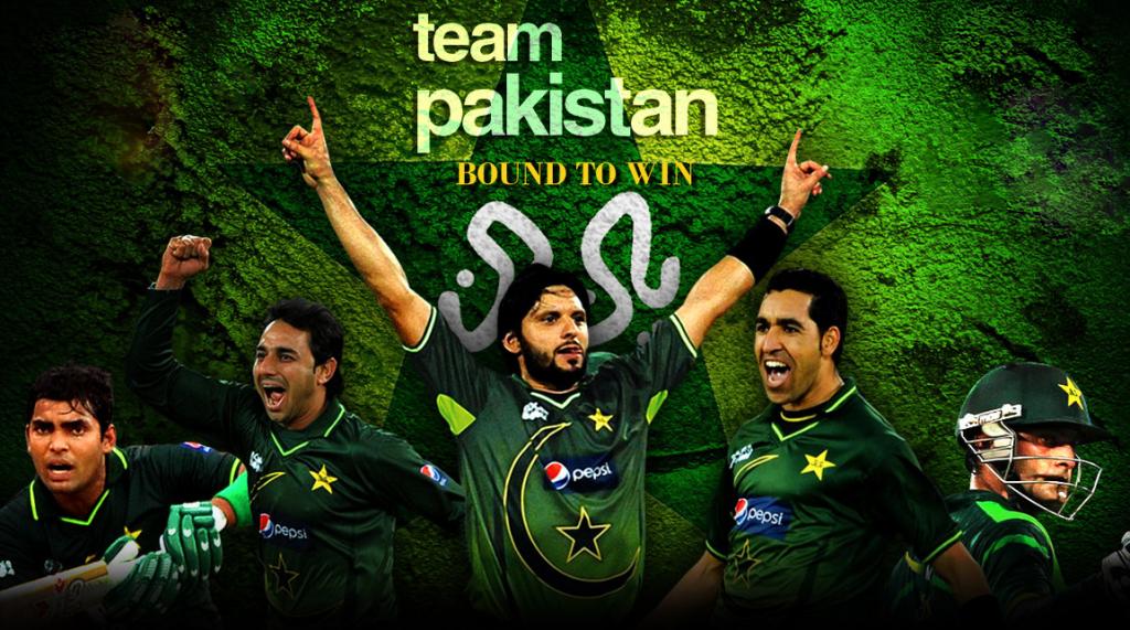 Pakistan Cricket Team 2014