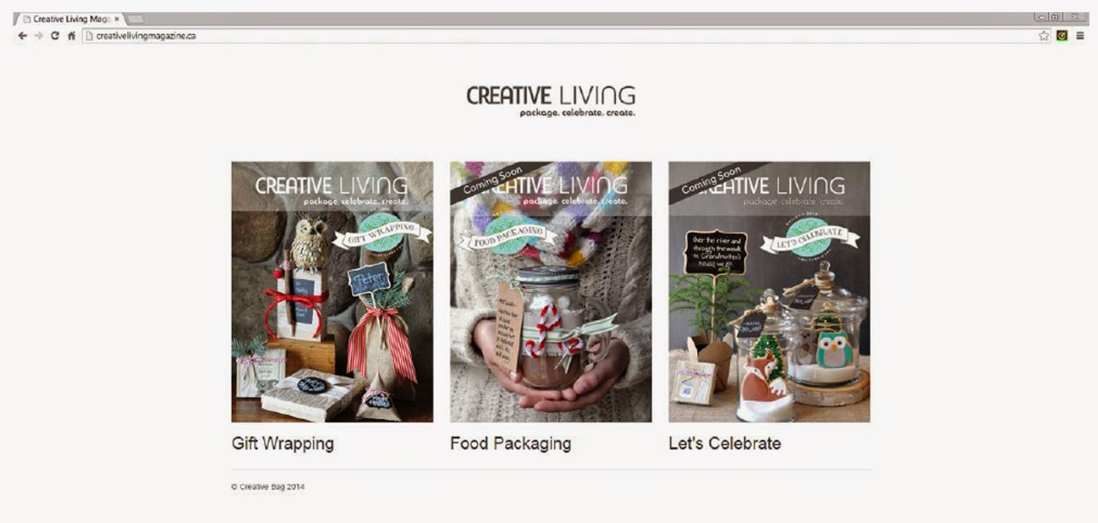 Creative Living Magazines by Creative Bag