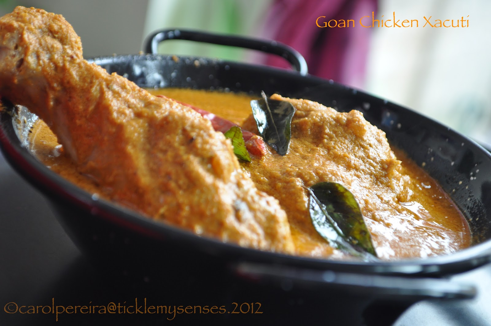 Tickle my senses goan chicken xacuti without coconut goan chicken xacuti without coconut forumfinder Gallery