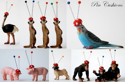pin cushions by Naori Priestly