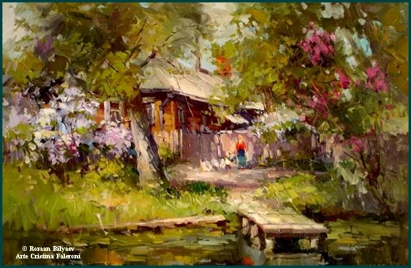 Artist Roman Bilyaev.