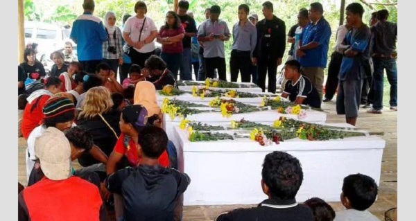 Mayat 4 Murid Orang Asli SK Tohoi Selamat Dikebumikan Semalam