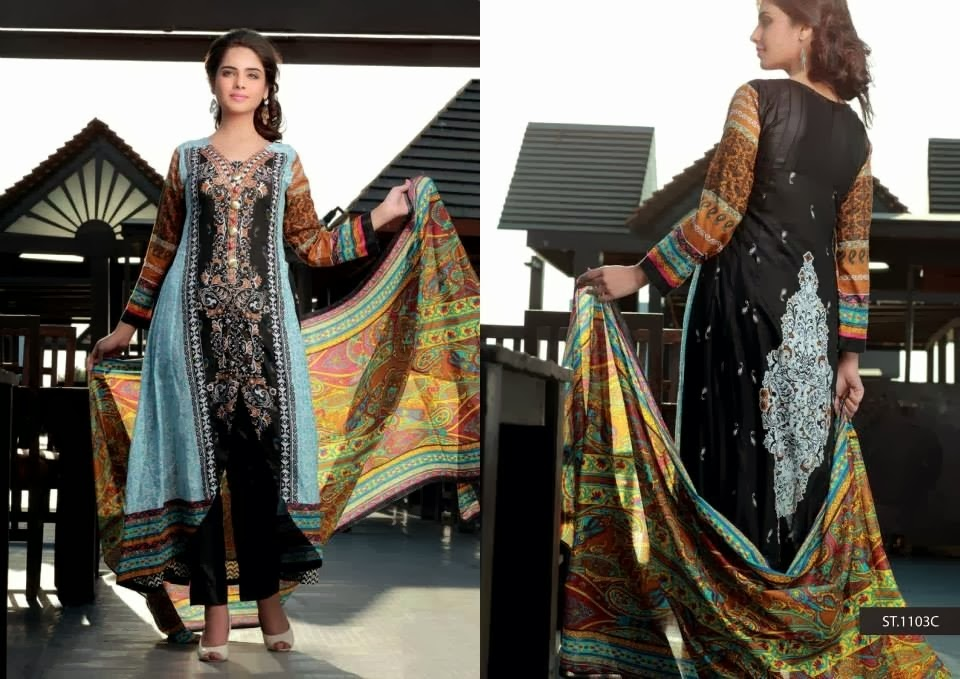 Long Frocks Printed Lawn Collection