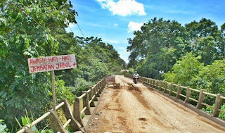 Gerakan Rp.1000 untuk jalan Kab.Sanggau