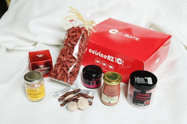 "30 box gourmandes ""C la Boîte"" de Mars"