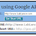 How to integrate Google URL shortener API with Blogger blogs