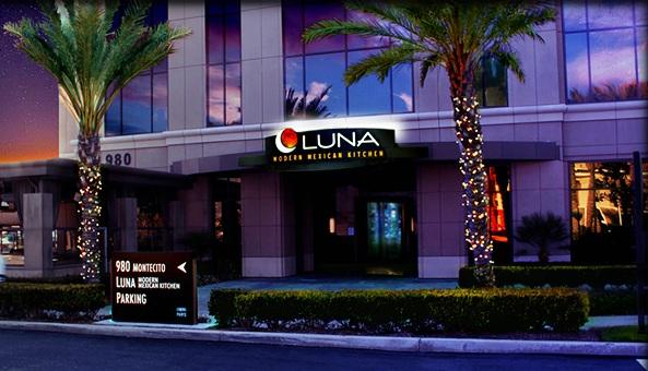the supreme plate: luna modern mexican cuisine corona, ca