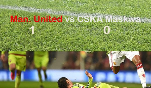 Liga Champions: Manchester United bungkam CSKA Maskwa