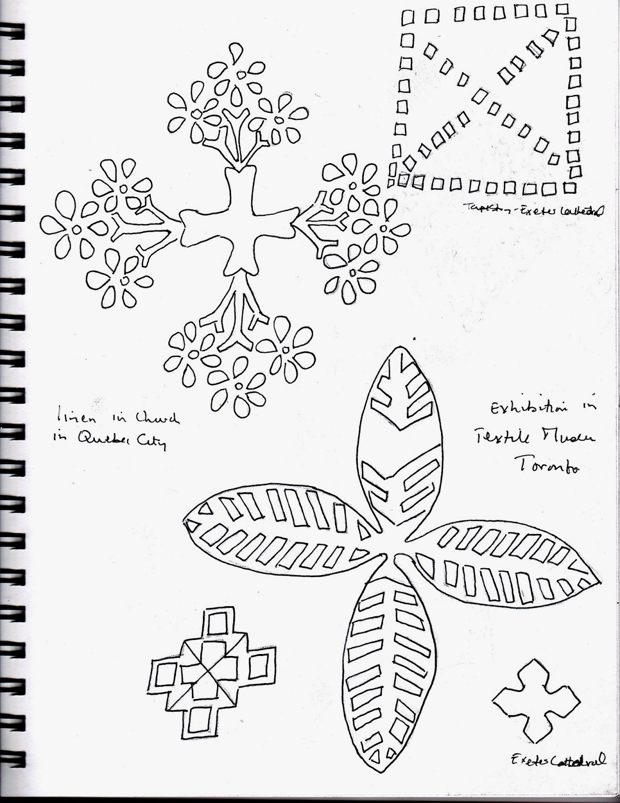 Lace Cross Drawing Cross Drawing Picture 4