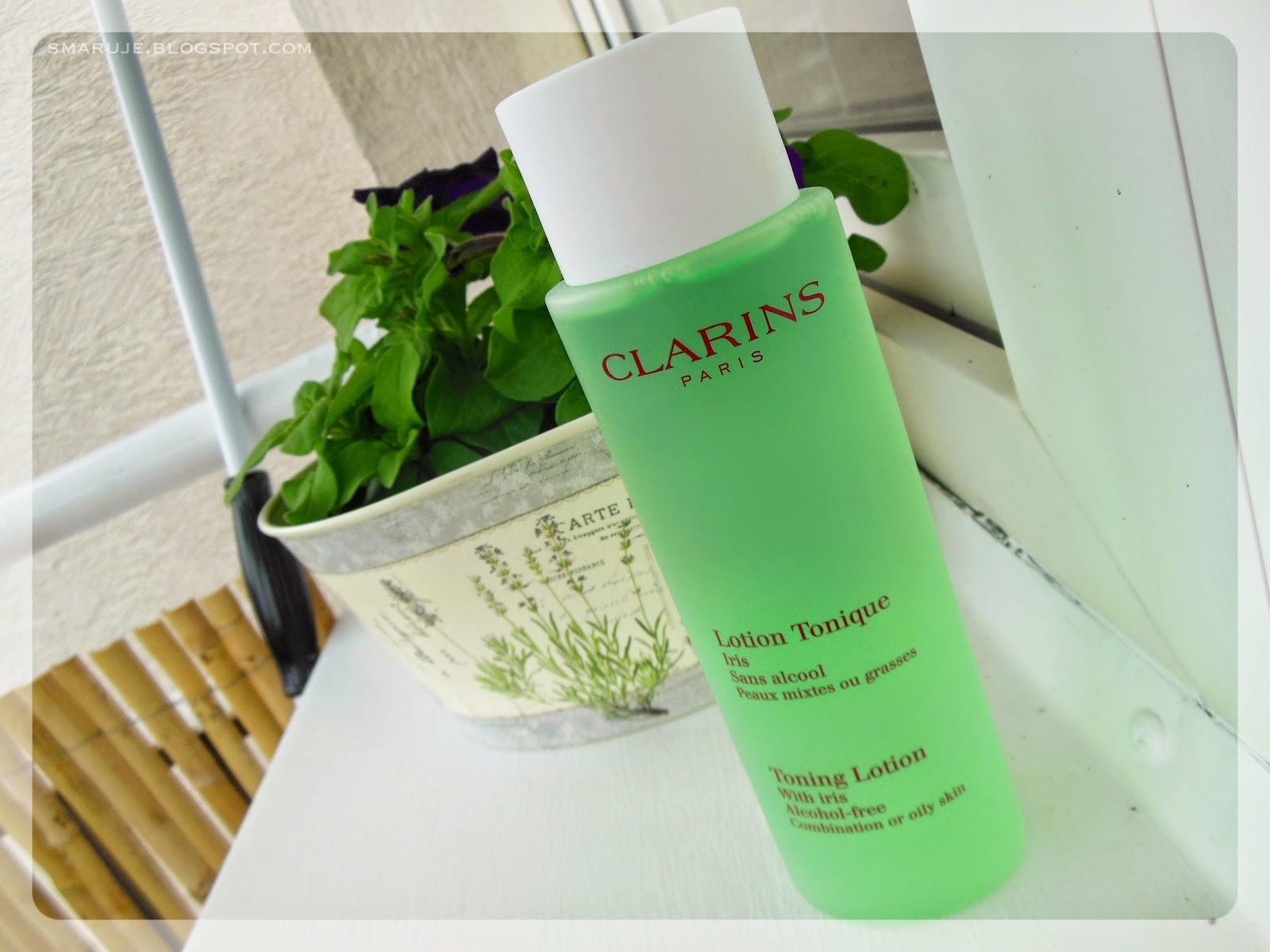 Clarins – Tonik z irysem dla cery tłustej i mieszanej [recenzja]