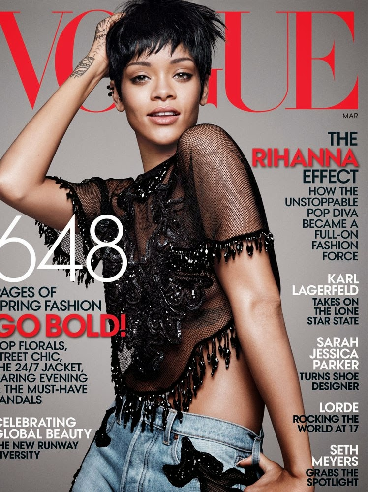 vogue magazine Vogue magazine is published 12 times a year and your first issue will arrive between 6 - 8 weeks of order receipt thereafter, you should receive each issue a week prior to the cover date (for example, your may issue will arrive the last week in april.