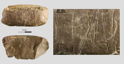 More on Engraved stone artefact found at Paleolithic site in northwest China