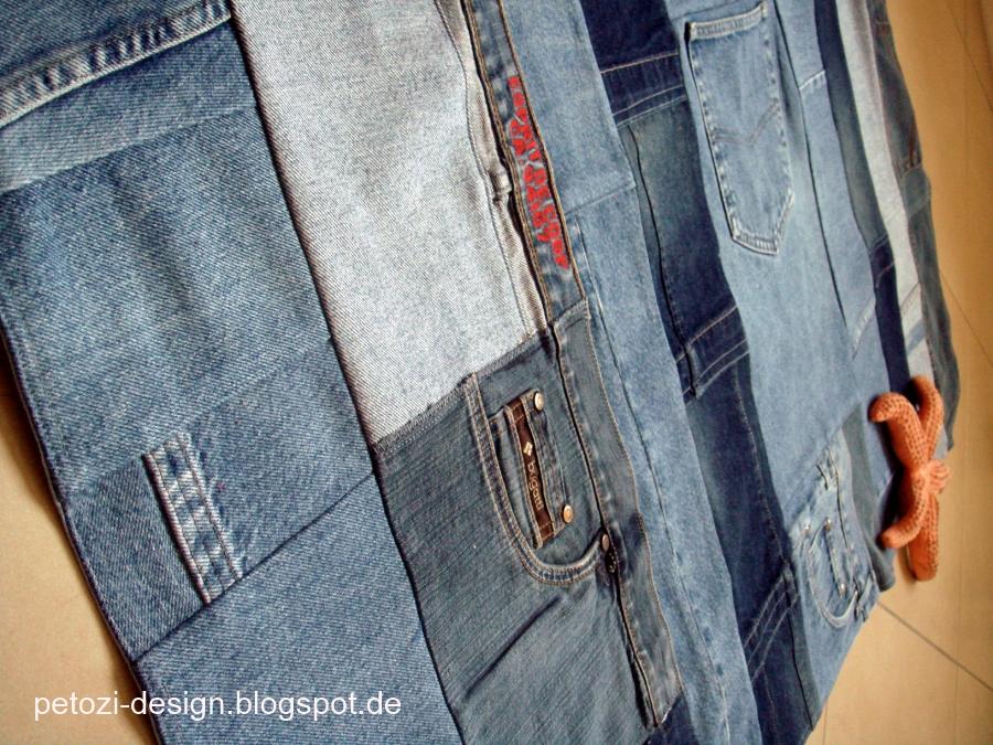 PetoziDesign JeansTeppich