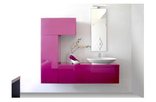 un bagno colorato quando rompere con la tradizione d risultati eccellenti