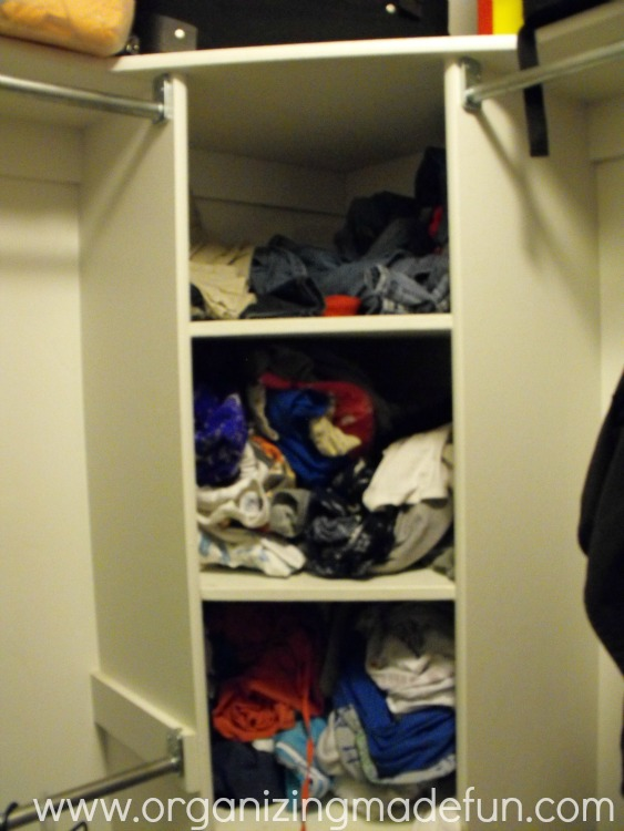 OMF To The Rescue: Weird Corner Closet Shelf