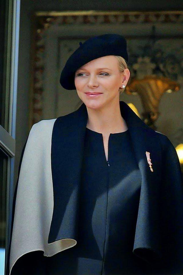 Princess Charlene of Monaco National Day in Monaco