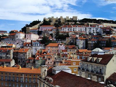 Lisbon Estremadura Beautiful Wonderful View Capital Portugal Hd Desktop Wallpaper