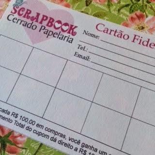Faça o seu cartão Fidelidade hj!