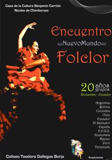 20 Encuentro del Nuevo Mundo del Folclor