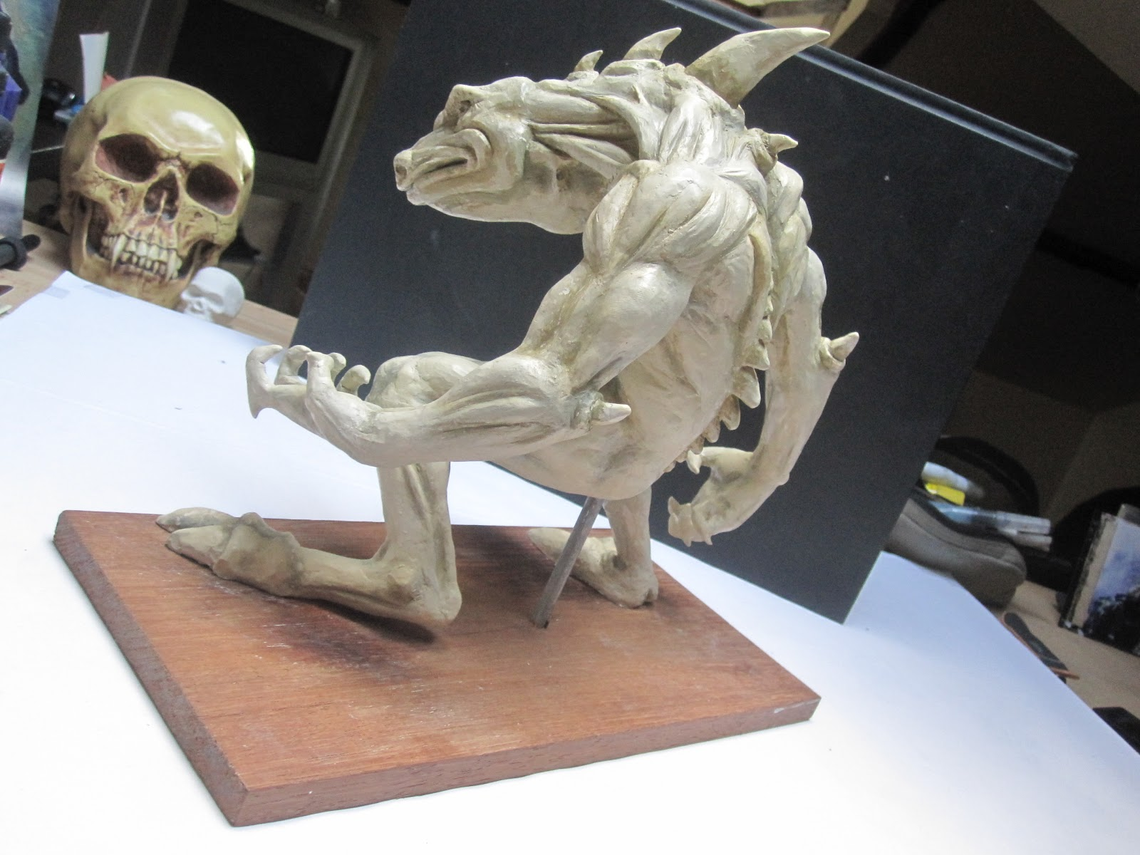 Xaphia: Sculpture réalisée en pâte à modeler